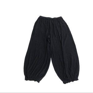 Free People Pants & Jumpsuits - Free People black ribbed Let Loose joggers pants